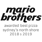 Mario Brothers Pizza & Pasta - Sydney's Best Italian Pizza in 2018 & 2019 –